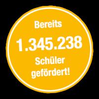 Bereits 1.345.238 Schüler gefördert!